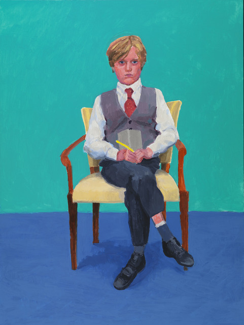 David Hockney, 'Rufus Hale', 2015, Royal Academy of Arts