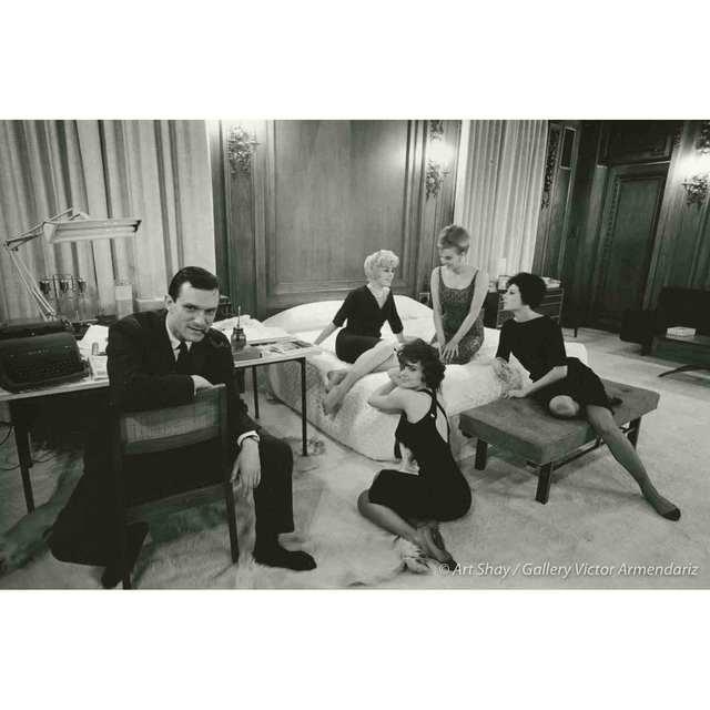 , 'Hefner in Bedroom Office, 1961,' 2017, Gallery Victor Armendariz