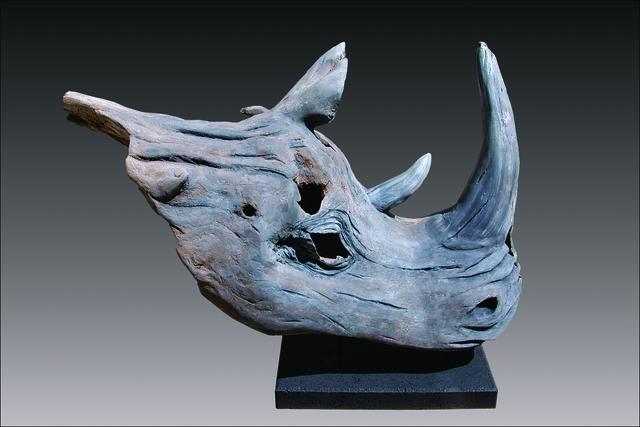 Bernie Houston, 'Farwell Sudan', Sculpture, Carved Driftwood, Zenith Gallery