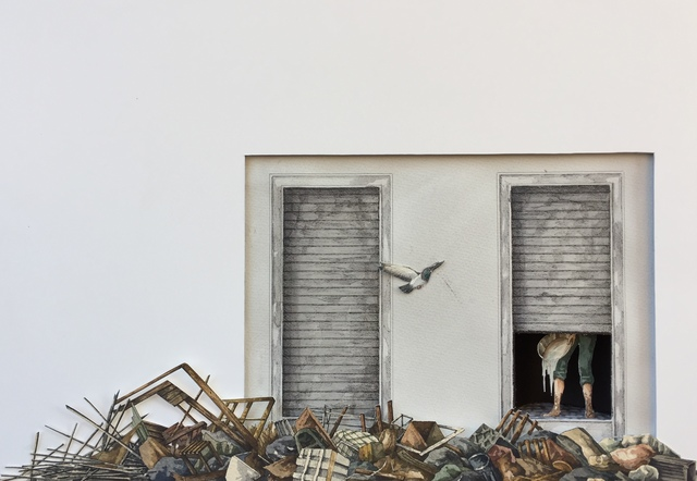 Vanni Cuoghi, 'Monolocale 88 (Typhoon 14) 一居室 88 (颱風 14)', 2019, Rossi & Rossi