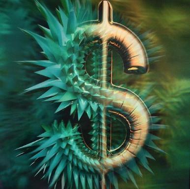 , 'Dollar,' 2015, HG Contemporary