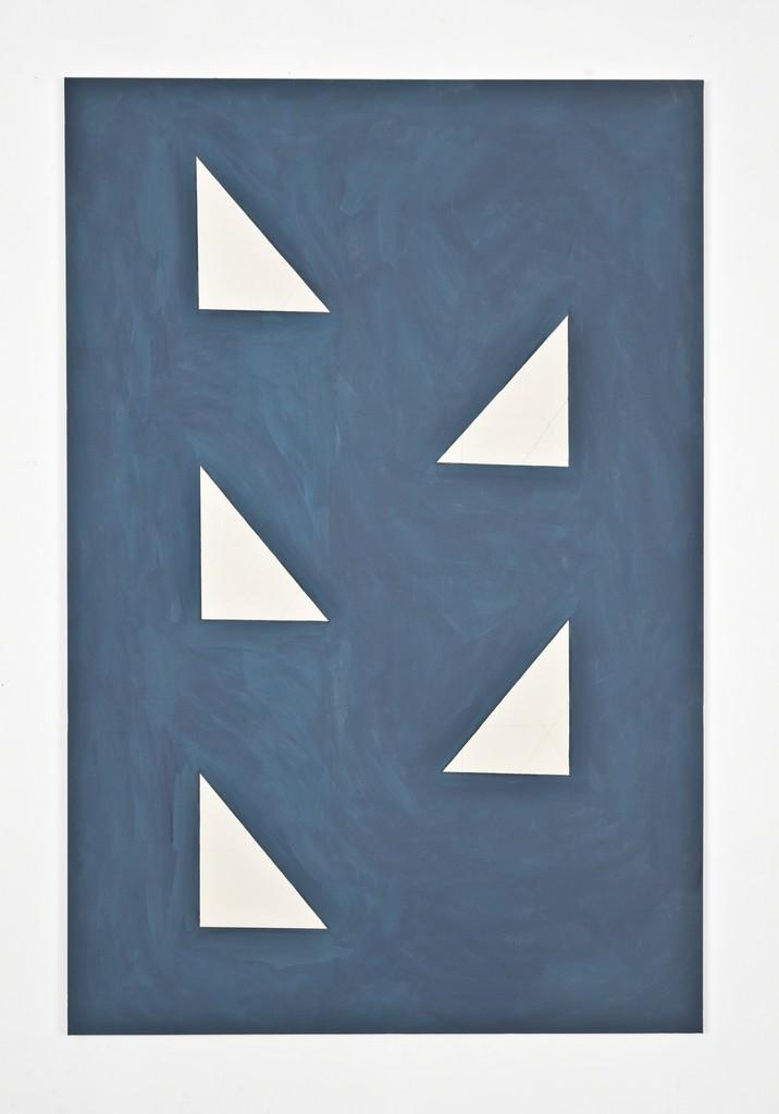 Camila Oliveira Fairclough, 'Bad Blue (Volpi),' 2012, Galerie Emmanuel Hervé