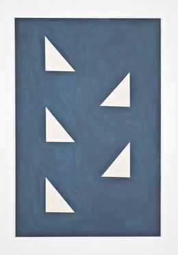 , 'Bad Blue (Volpi),' 2012, Galerie Emmanuel Hervé
