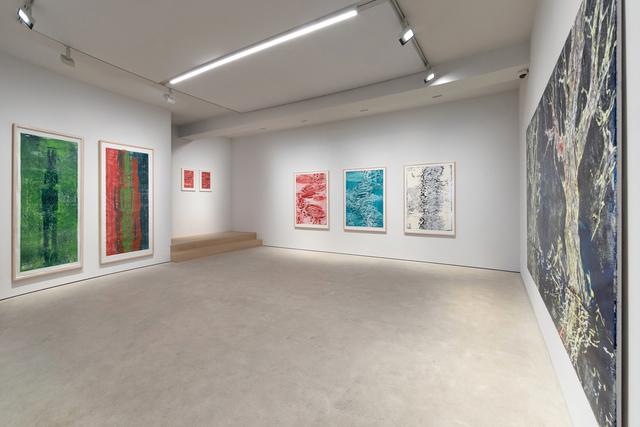 Bernd Zimmer, 'Im Fluss', 2014, Print, Woodcut, Galerie Wolfgang Jahn