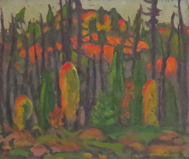 , 'Algoma Hills (verso Autumn Landscape),' , Arctic Experience McNaught Gallery