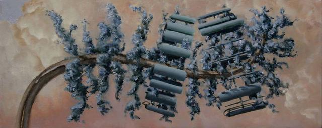 , 'Pseudpinus Telephoneyensis,' 2012, Catharine Clark Gallery