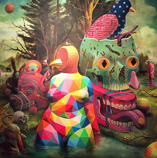 Smithe, 'Theriomorphism (Collaborative Work+Charlie Immer+Okuda)', 2015, Coleccion SOLO