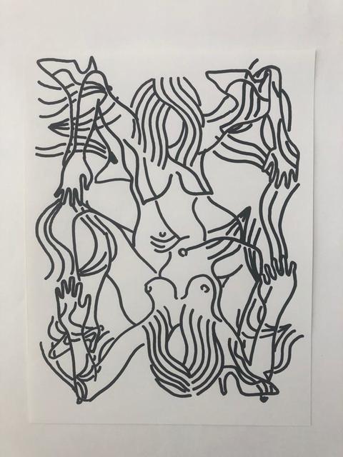 Carlos Amorales, 'Narcisos Selváticos 2', 2019, Galeria Solo / Eva Albarran & Christian Bourdais
