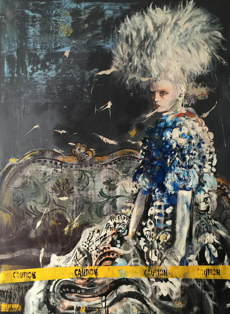 , 'Blue Metallic,' 2017, Lois Lambert Gallery