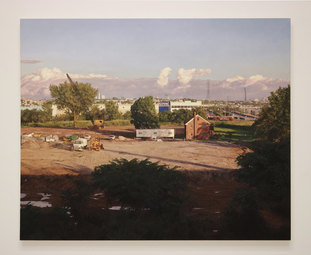 , 'The House on County Road One,' 2018, Halsey McKay Gallery