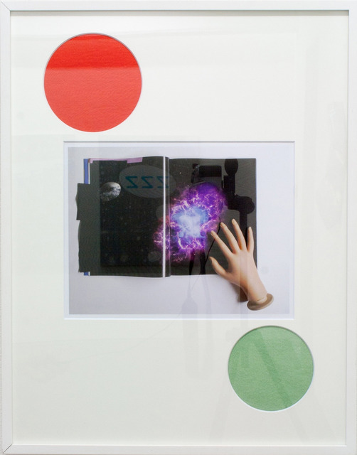 , 'Untitled, red circle and green circle,' 2013, XYZ collective