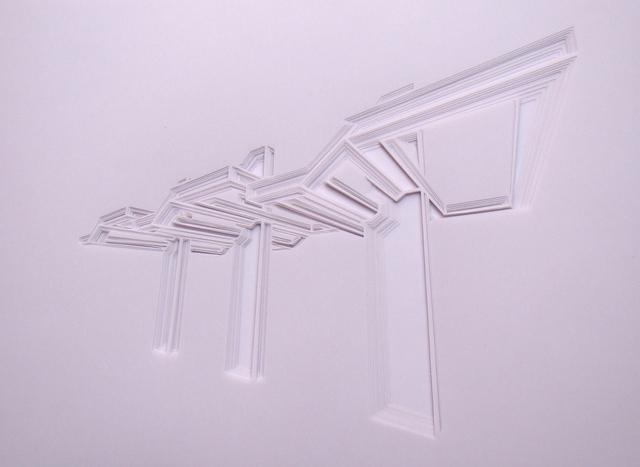 , 'La percepción de los límites físicos #3,' 2017, BETA Galería