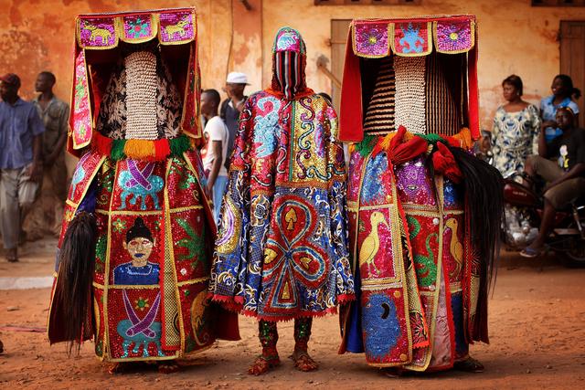 , 'Benin Voodoo Ceremony,' 2012, Getty Images Gallery