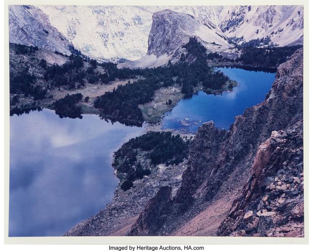 Eliot Porter, 'Bear Tooth Mountain, Twin Lakes, Montana', Heritage Auctions