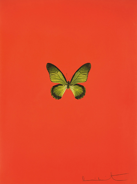 Damien Hirst, 'New Beginnings: one plate', 2011, Phillips