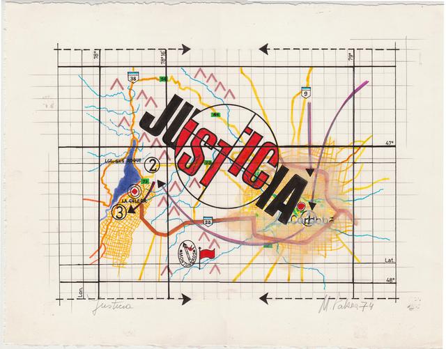 , 'Justicia,' 1974, Herlitzka + Faria