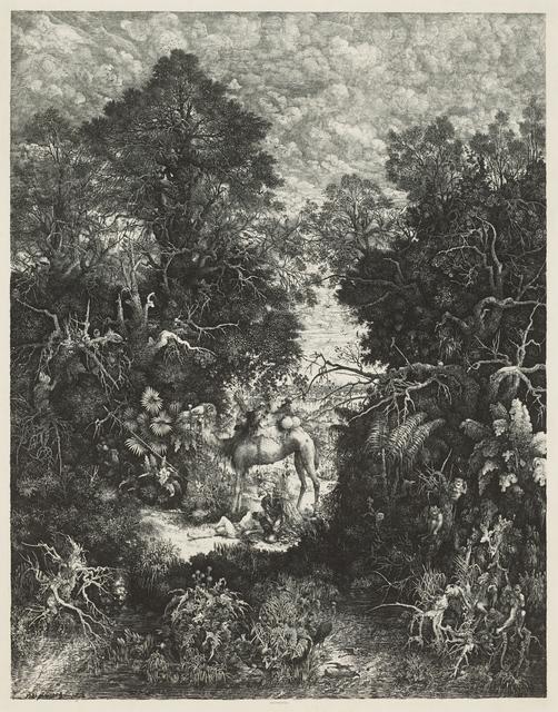 , 'The Good Samaritan,' 1861, Clark Art Institute
