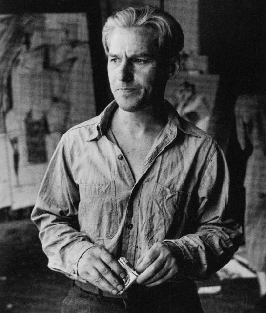 , 'Willem de Kooning (with cigarettes),' 1950, Tibor de Nagy