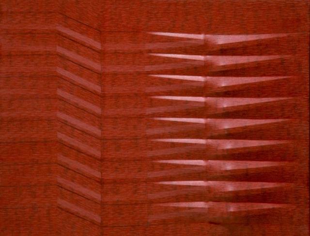 , 'Rosso,' 1987, Lattuada Studio