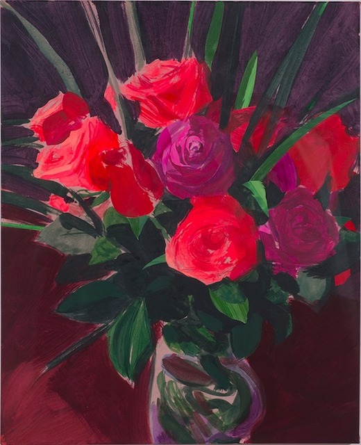 , 'Roses,' 2015, De Buck Gallery