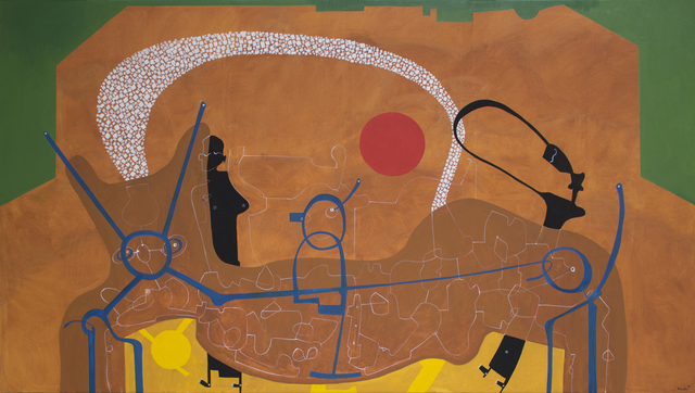 Eduardo Arranz-Bravo, 'Big red sun', 2018, Matthew Liu Fine Arts
