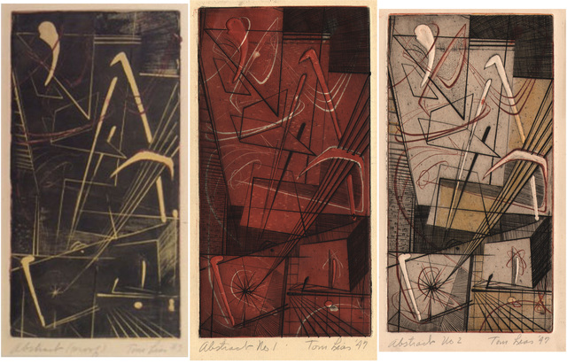 , 'Abstract (proof),' 1947, Dolan/Maxwell