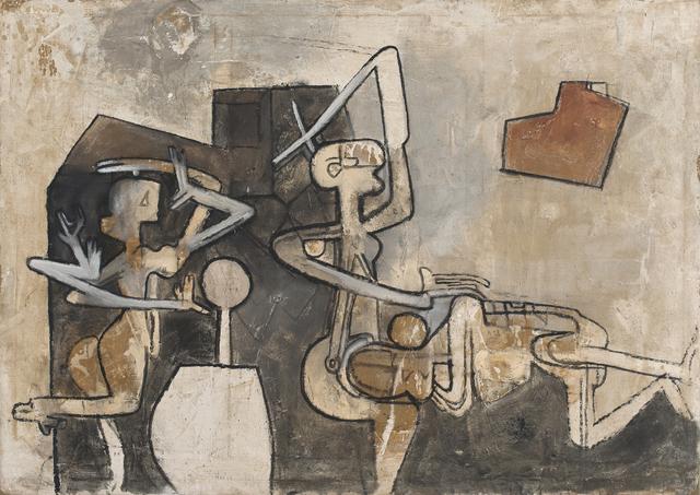 , 'La Question,' 1958, Galerie Diane de Polignac & Chazournes