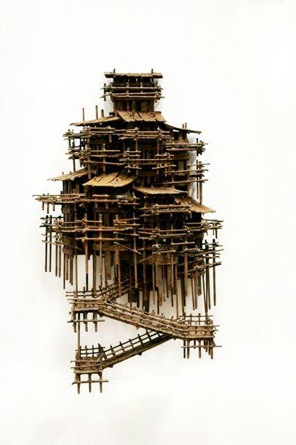Fernando Suárez Reguera, 'Aldeas verticales', 2017, Victor Lope Arte Contemporaneo