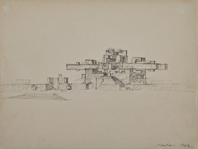 , 'Stadtstruktur (City Structure),' 1962, Edward Cella Art and Architecture