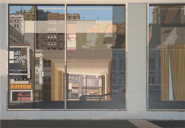 Richard Estes, 'Movies, Urban Landscapes III', 1981, Woodward Gallery