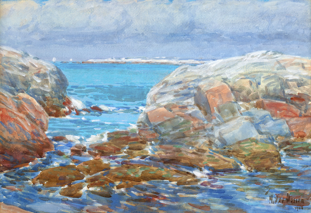, 'Duck Island, Isles of Shoals,' 1906, Debra Force Fine Art