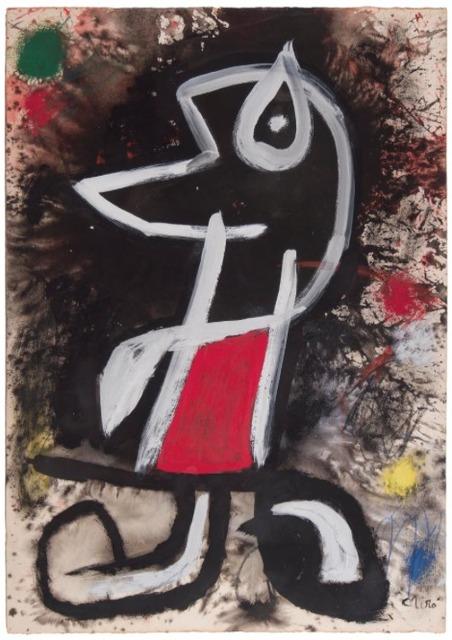 Joan Miró, 'Personnage ', 1977, David Benrimon Fine Art
