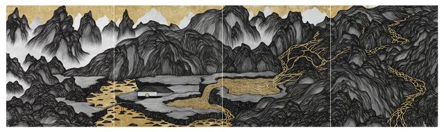 Yao Jui-chung 姚瑞中, 'Cliffs & Gully – Sky pool Villa', 2018, Tina Keng Gallery