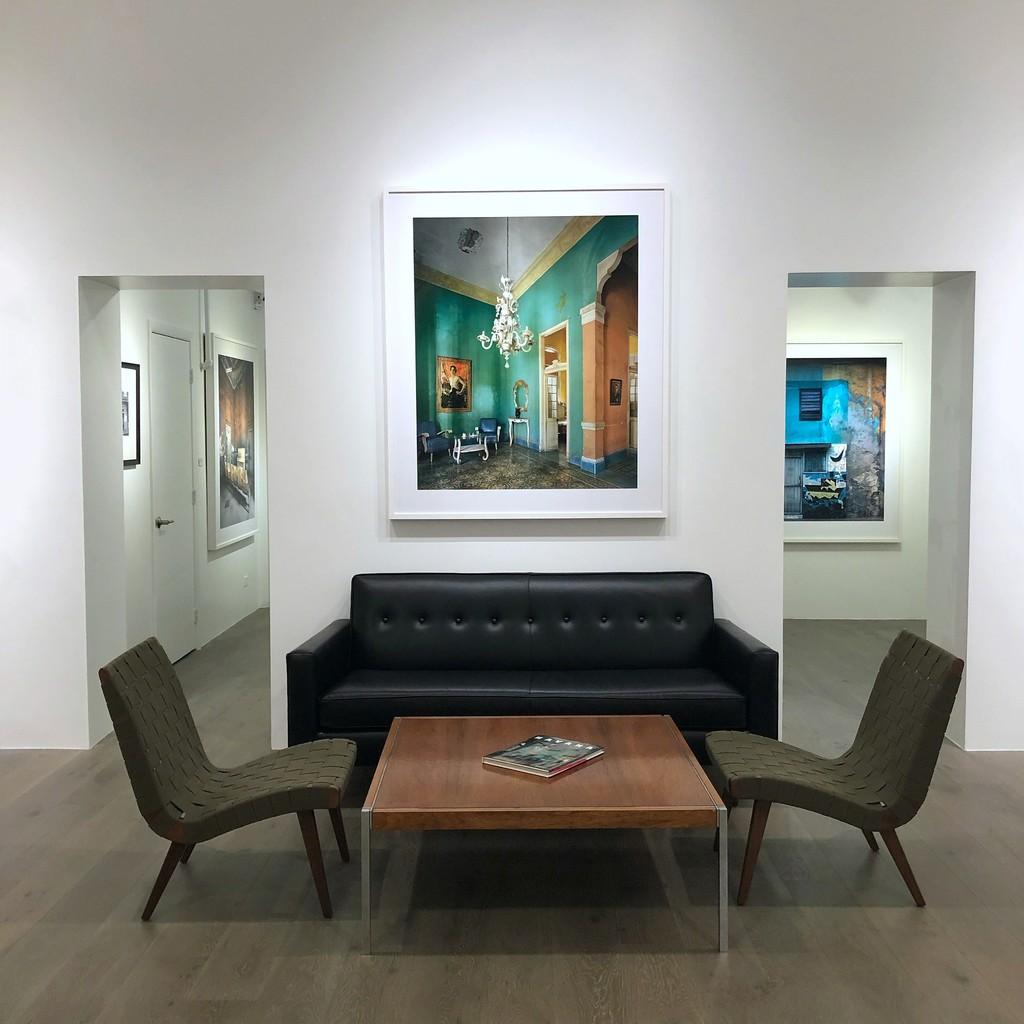 Michael Eastman: Class Room, Havana; Portrait #2, Havana; Abstract Wall, Havana