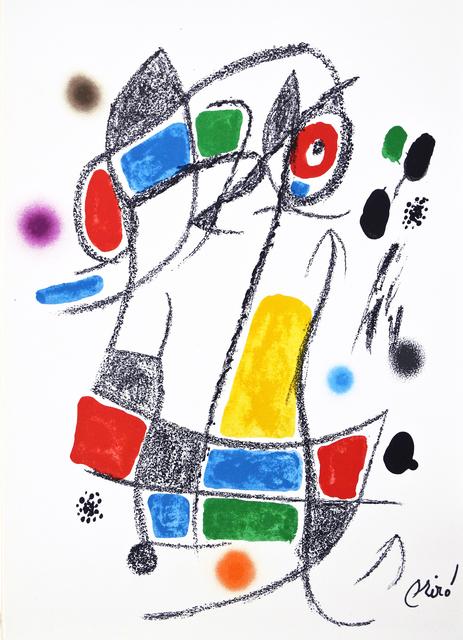 Joan Miró, 'Maravilla 1', 1975, Hans den Hollander Prints