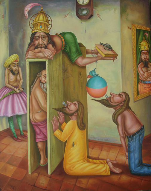 Gopikrishna, 'Kind and Courtiers', 2010, 1x1 Art Gallery