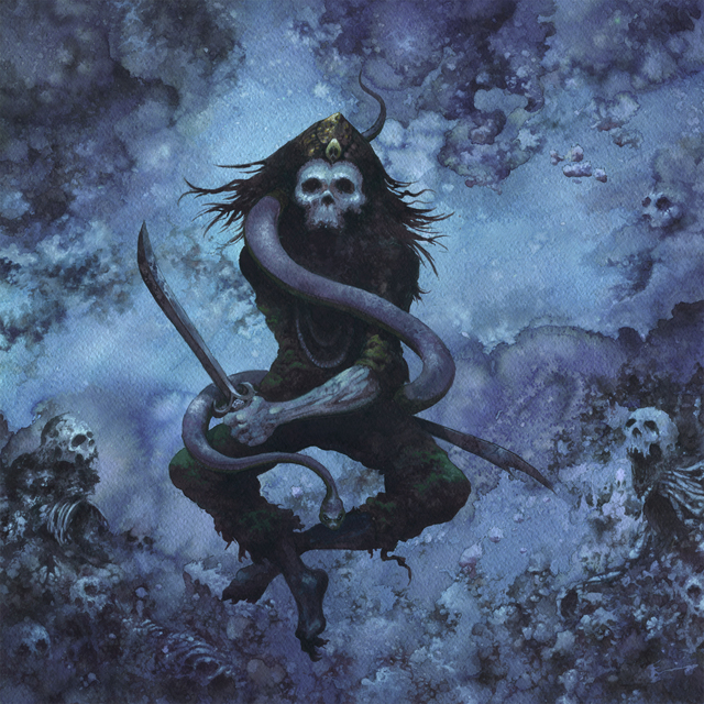 , 'Assassin, interior album art for High on Fire's Snakes for the Divine.,' 2010, SEA Foundation