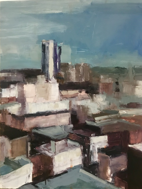 , 'Soma Rooftops,' 2018, Maybaum Gallery
