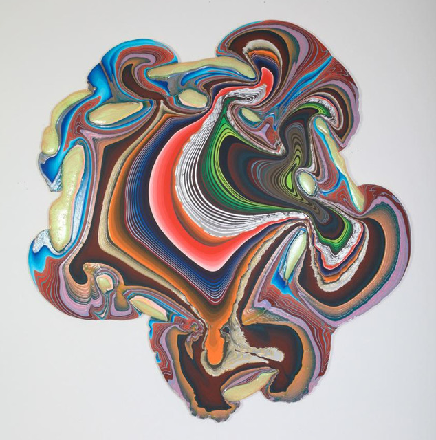Holton Rower, '8ae15c,' 2013, The Hole