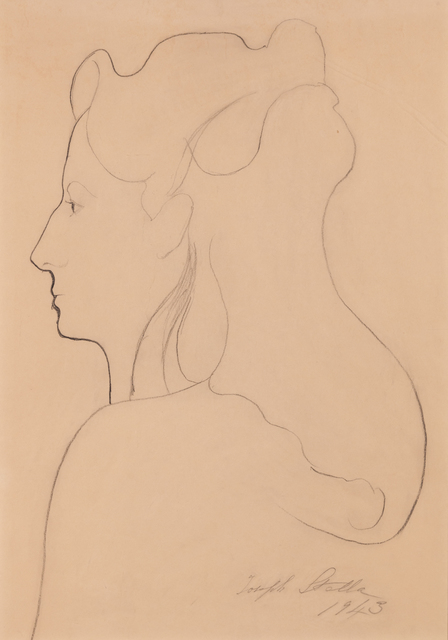 , 'Portrait of Elizabeth Savage,' 1943, ACA Galleries