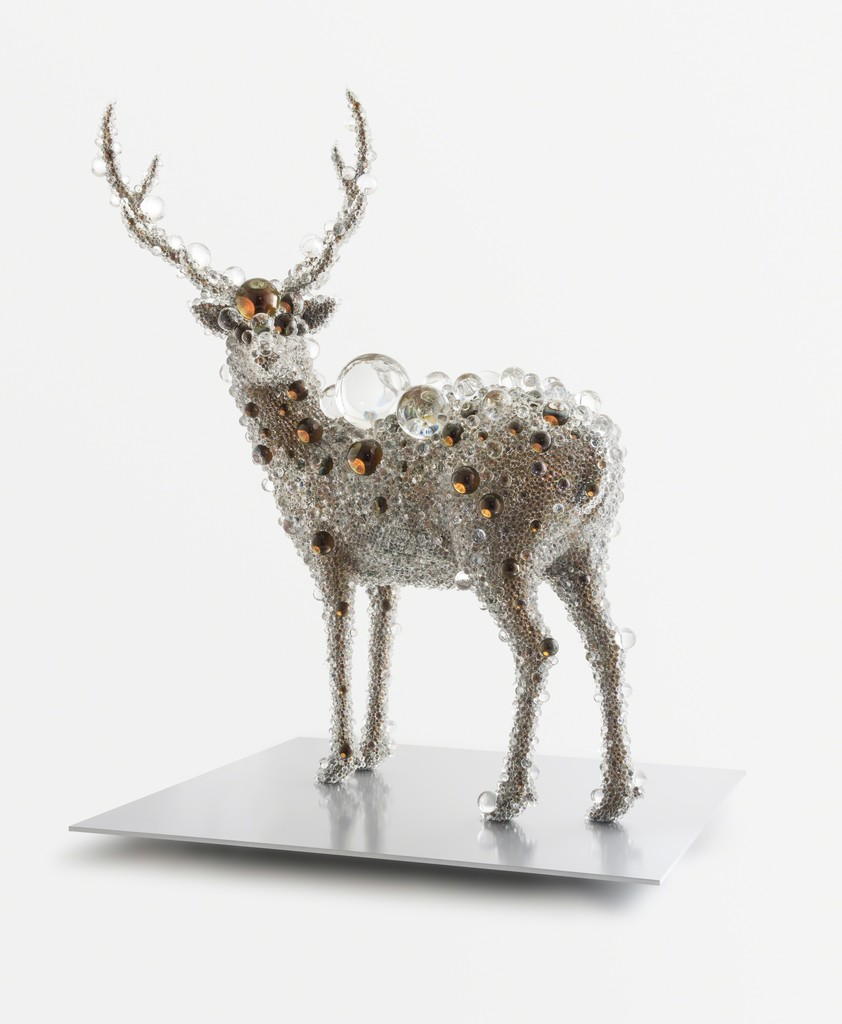 Kohei Nawa, 'PixCell-Deer(Mica),' 2013, SCAI The Bathhouse