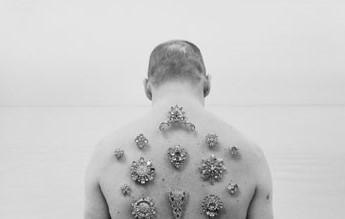 , 'Silver Horizon (Self Portrait),' 2010, Hal Bromm
