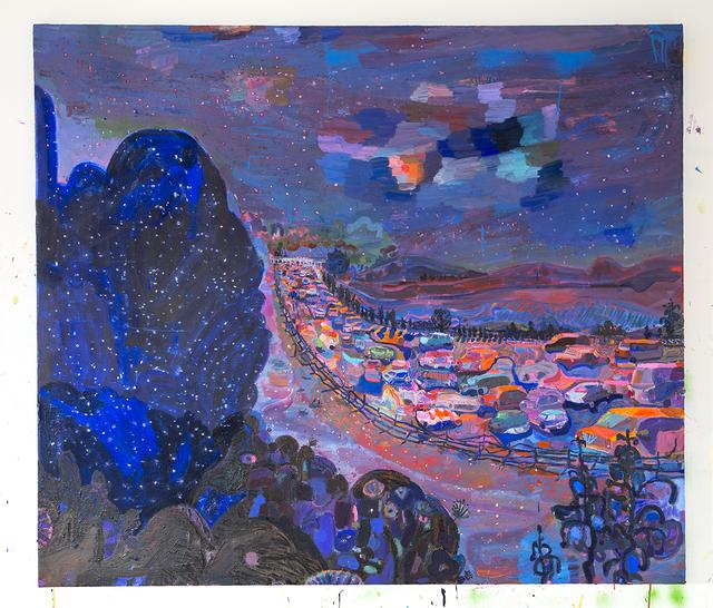 , 'Northern Border Blue,' 2016, Jonathan Ferrara Gallery