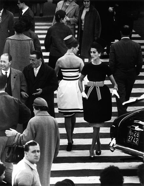 , 'Men + Mina + Simone, Piazza di Spagna, Rome,' 1960, Atlas Gallery