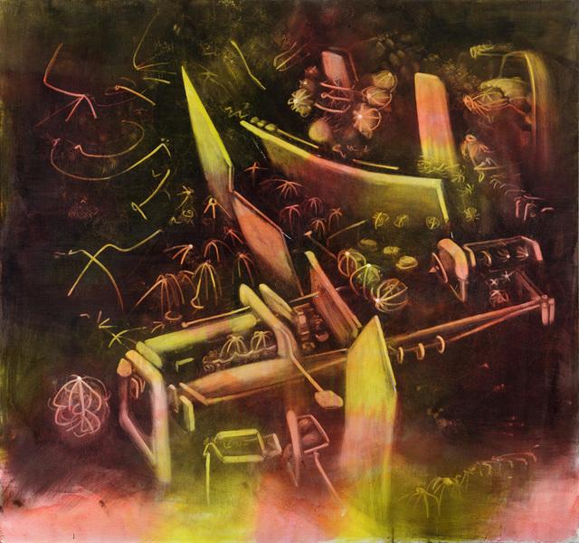 , 'Geysers de la memoire,' 1972-1974, Galeria Marc Domenech