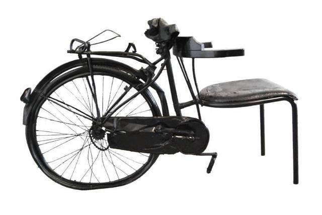 , 'Non e' Una Bici ma e' una sedia,' 2015, Galleria Ca' d'Oro