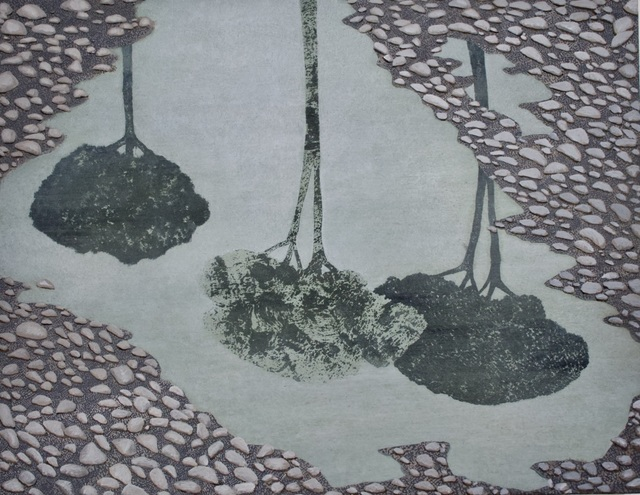 , 'Crossing (Italian Trees),' 2018, The Grey Gallery