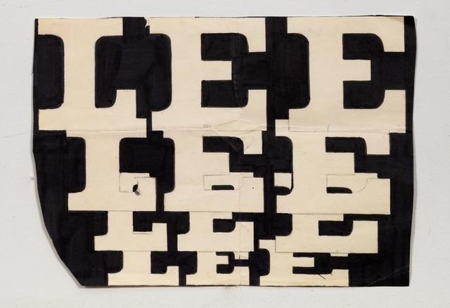 Lee Quinones, 'Lee Font Study #3', 1978, James Fuentes