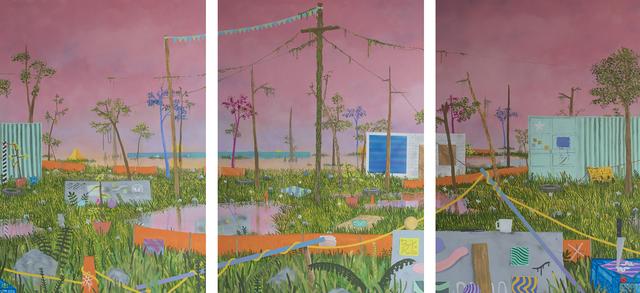 , 'On A Plain,' 2017, Antieau Gallery
