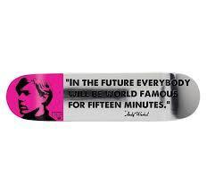Andy Warhol, '15 Minutes of Fame Skate Deck', 2012, Curator Style
